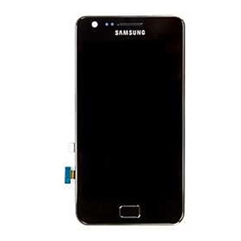 LCD + TOUCH ORIGINALE PER GALAXY S2 (I9100) NERO GH97-12625A