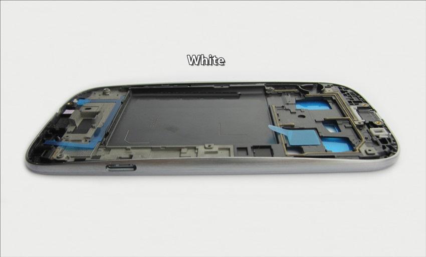 Frame Anteriore per Samsung Galaxy S3 i9300 Bianco