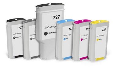 Ciano Compatible Hp T1500,T2500,T920,T930-130Ml #727