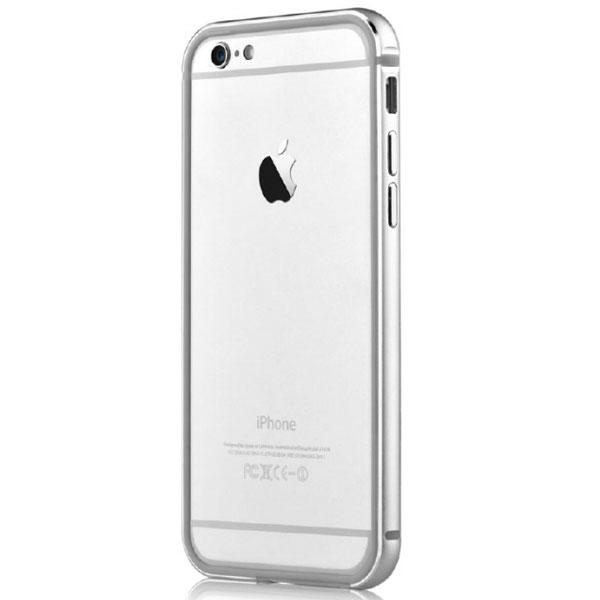 Cover-Bumper-Alluminio-Per-iPhone-6-e-6S-Colore-Argento