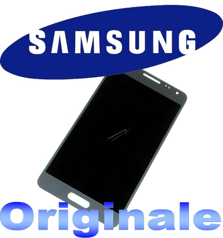 LCD + TOUCH FULL PER GALAXY ALPHA SILVER GH9716386E