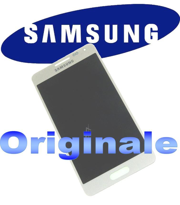 LCD + TOUCH FULL SET PER GALAXY ALPHA BIANCO GH9716386D