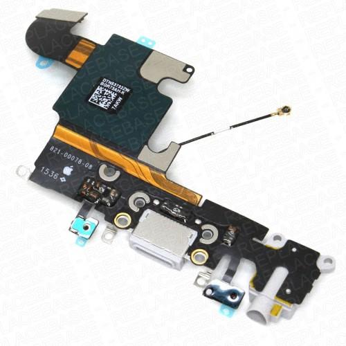 Connettore Carica Foxconn Dock per iPhone 6S Grigio Chiaro