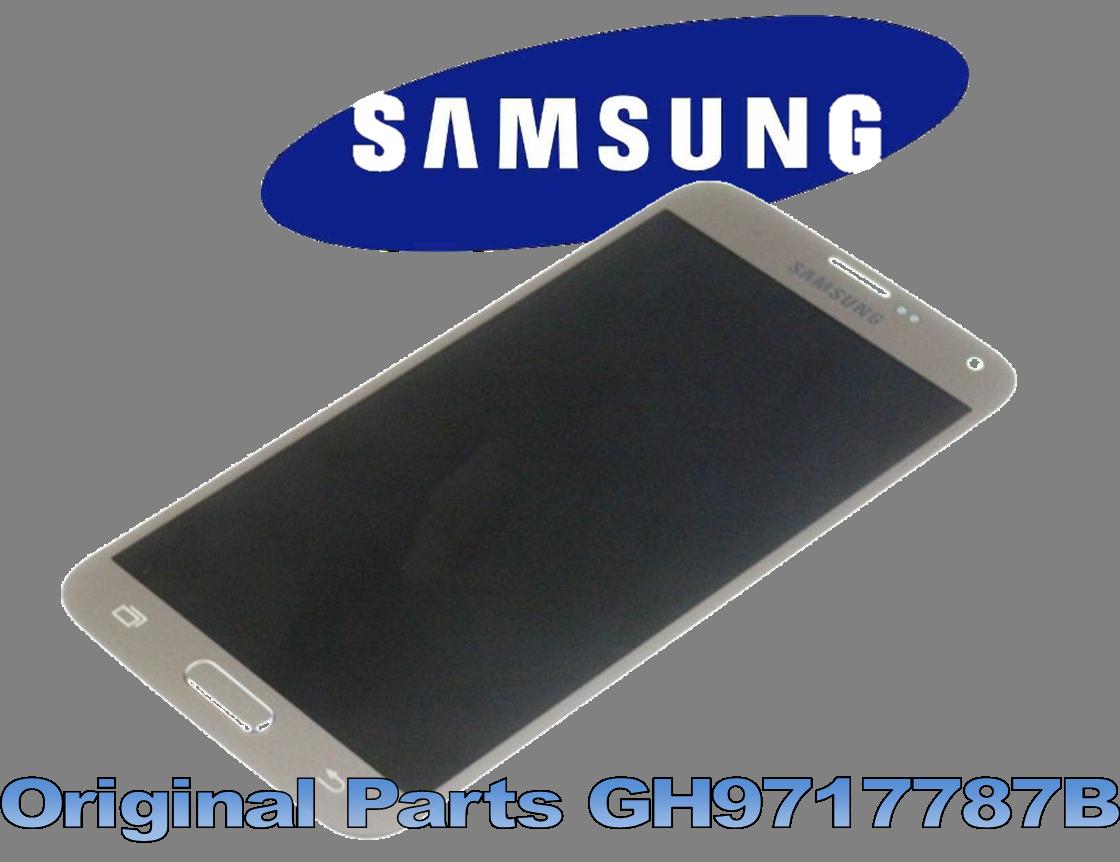 LCD + TOUCH FULLSET PER GALAXY S5 NEO GH9717787B GOLD