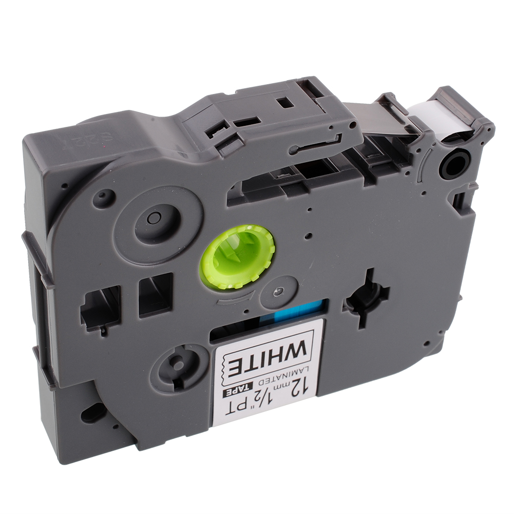 Laminato Black-Yello 9mmX8m Brother label#TZ-FX621/TZe-FX621