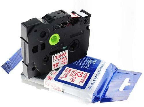 Laminato Black-white 6mmX8m Brother label#TZ-S211/TZe-S211