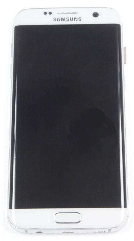 LCD + TOUCH PER GALAXY S7 EDGE ORIGINALE BIANCO GH97-18533D