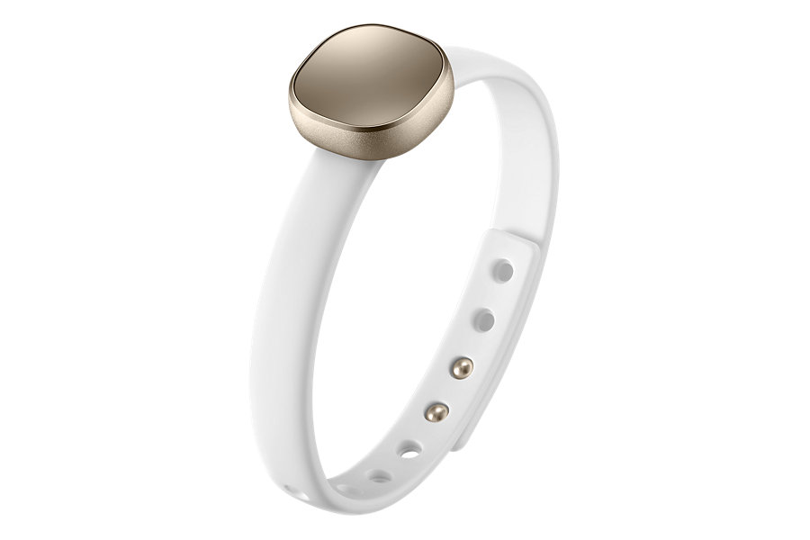 Fitness-Sport-Band-Charm-by-Samsung-Bianco
