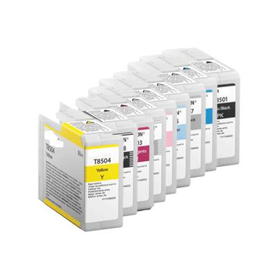 80ML Pigmento compatible SC-P800DES,P800SE,P800SP-Ciano