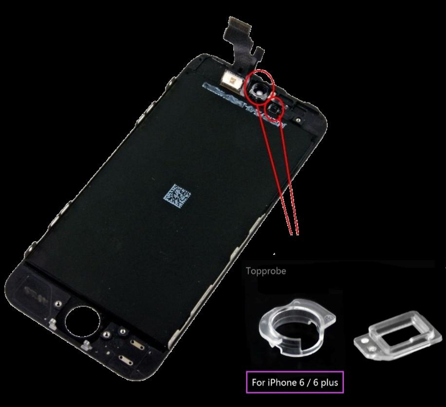 Supporti-Telecamera-e-Sensore-Prox-per-Iphone-6-&-6-Plus