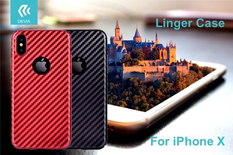 Cover-Linger-per-iPhone-X-Rossa