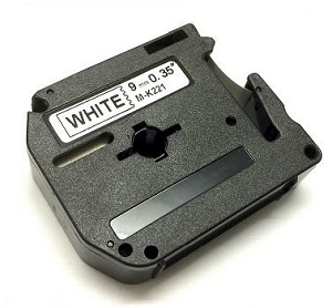 Laminato Black-White 9mmX8m Brother label#MK-221SBZ