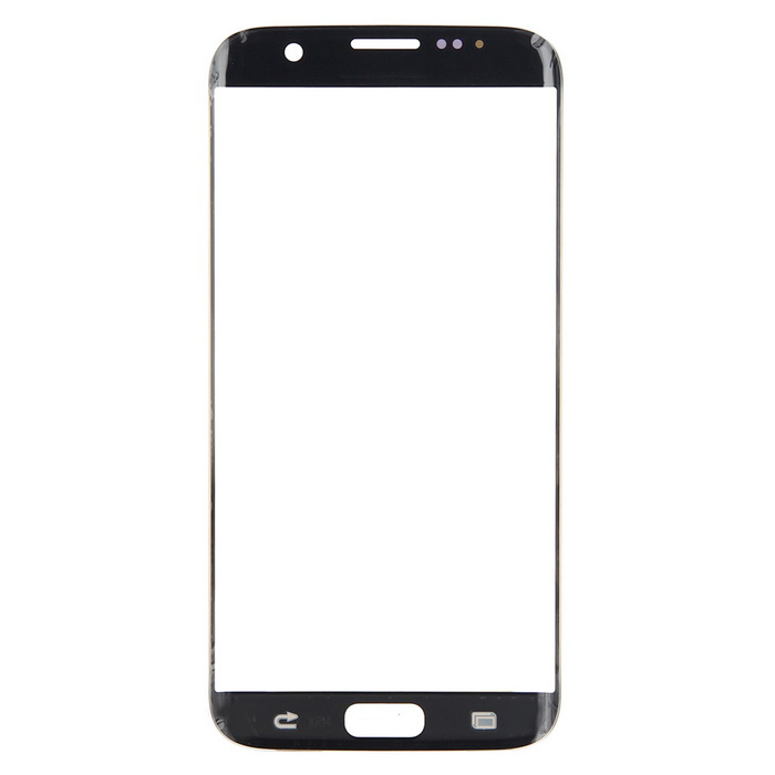 Vetro Touch per Samsung S7 Edge Senza Logo Nero