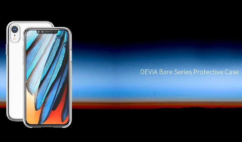 Cover TPU Slim 0.5mm Morbida Per iPhone Xr 6.1 Trasparente