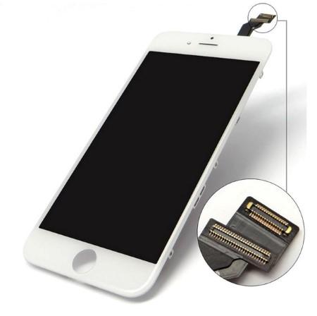 Display Lcd con ESR pellicola polarizzata per iPhone 6G Bian