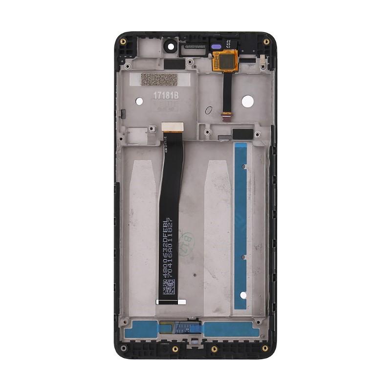 Lcd con Frame per Xiaomi Redmi 4A Nero