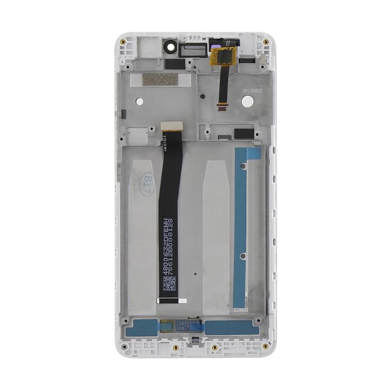 Lcd con Frame per Xiaomi Redmi 4A Bianco