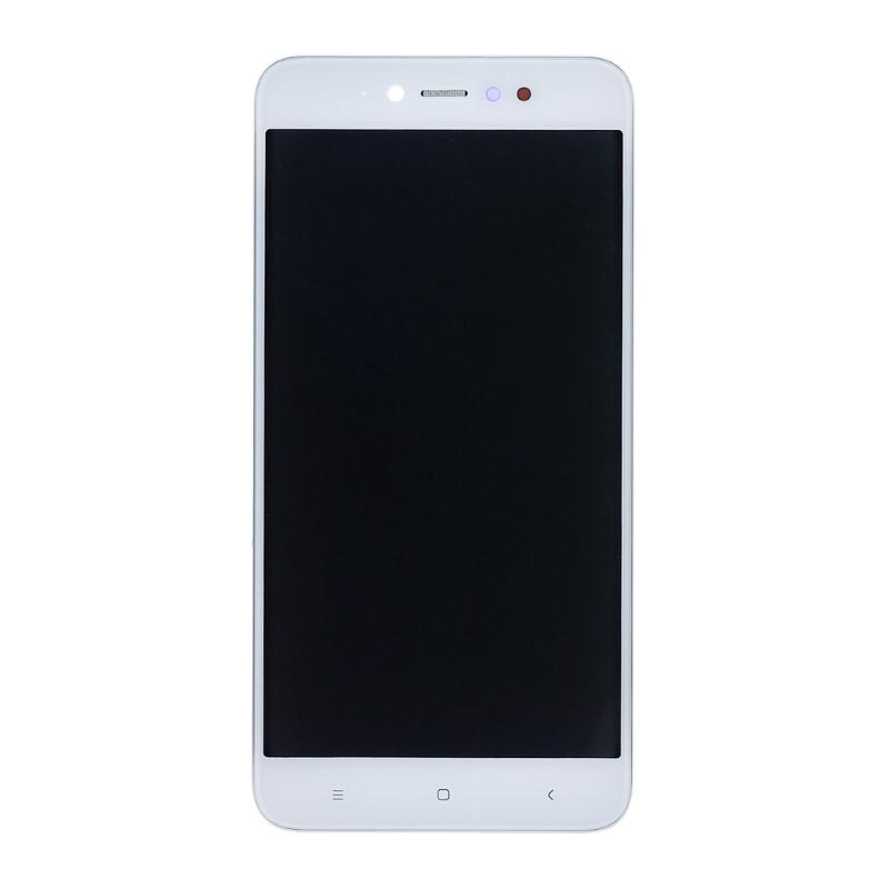 Lcd con Frame per Xiaomi Redmi Note 5A Prime Bianco
