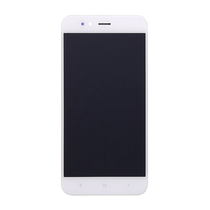Lcd con Frame per Xiaomi mi A1 Bianco