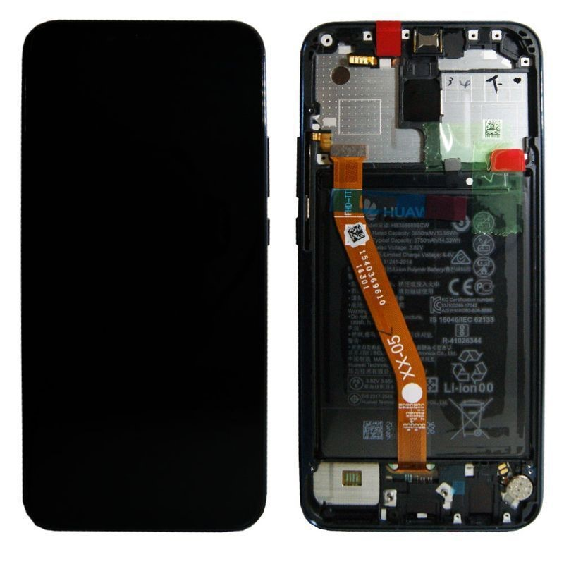 Lcd Huawei Mate 20 Lite Service Pack 02352DKM Blu