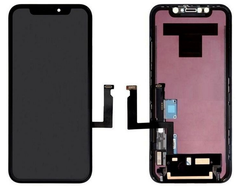 LCD + Touch + Vetro Originale LG Per iPhone Xr