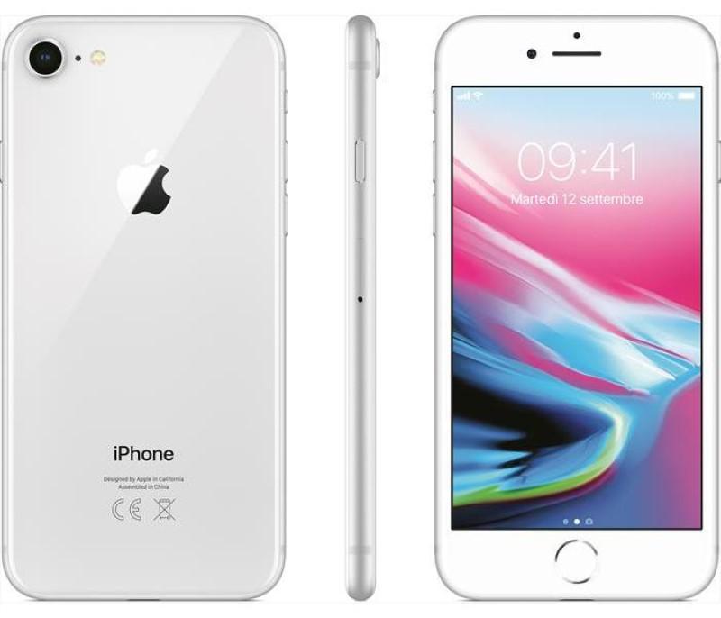 iPhone 8 256Gb Usato G.A Garanzia 1 anno Silver