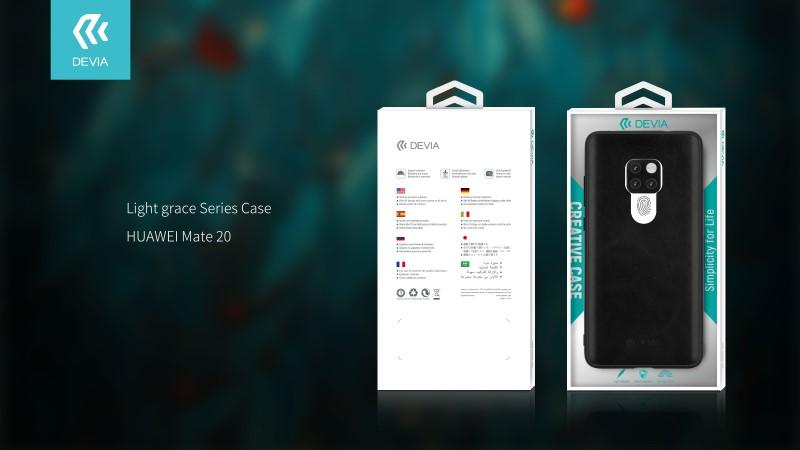 Custodia protettiva Light grace per Huawei Mate 20 Blu