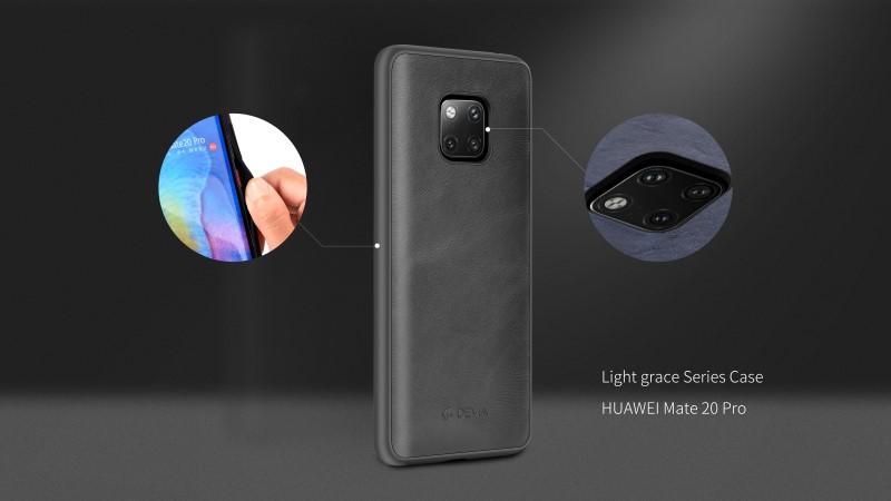 Custodia protettiva Light grace per Huawei Mate 20 Pro Blu