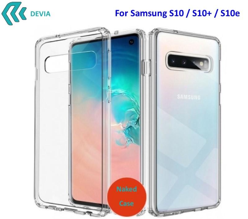 Cover Protezione per Samsung S10e in TPU Morbido Trasparente