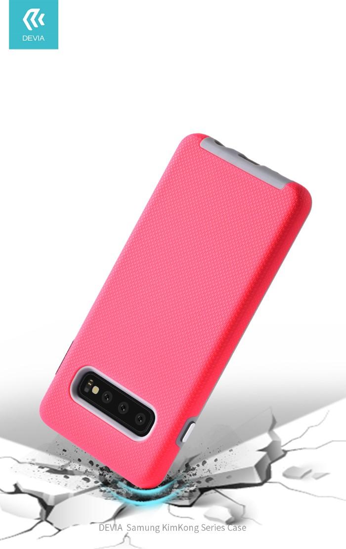 Cover Alta Protezione 360° per Samsung S10 Rossa