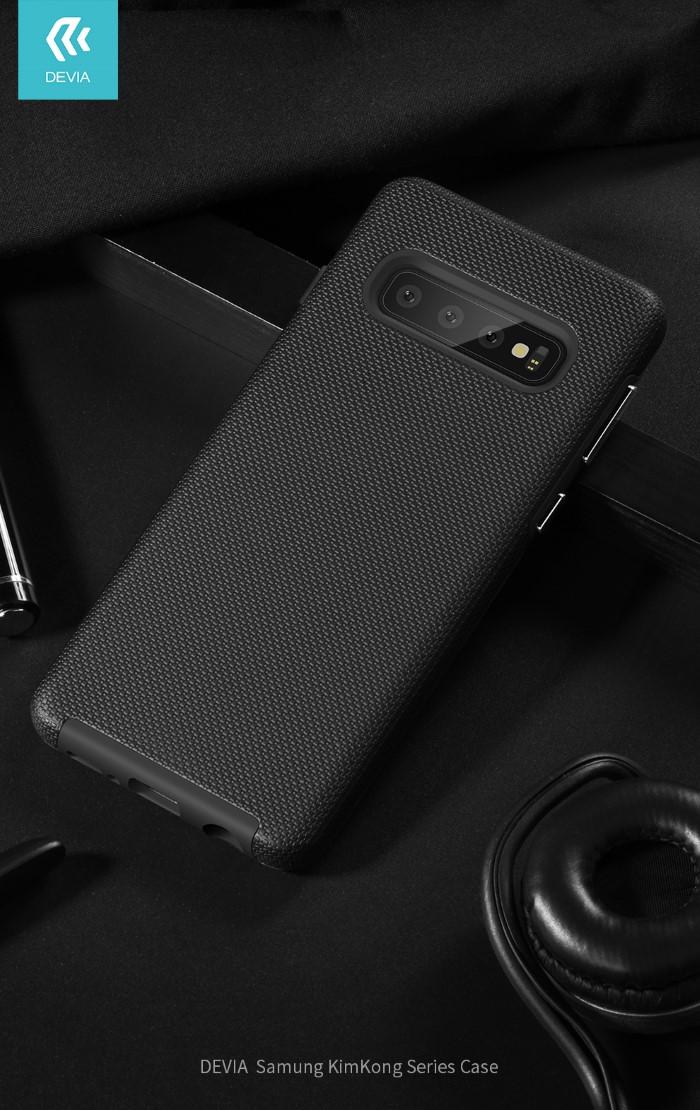 Cover Alta Protezione 360° per Samsung S10 Viola