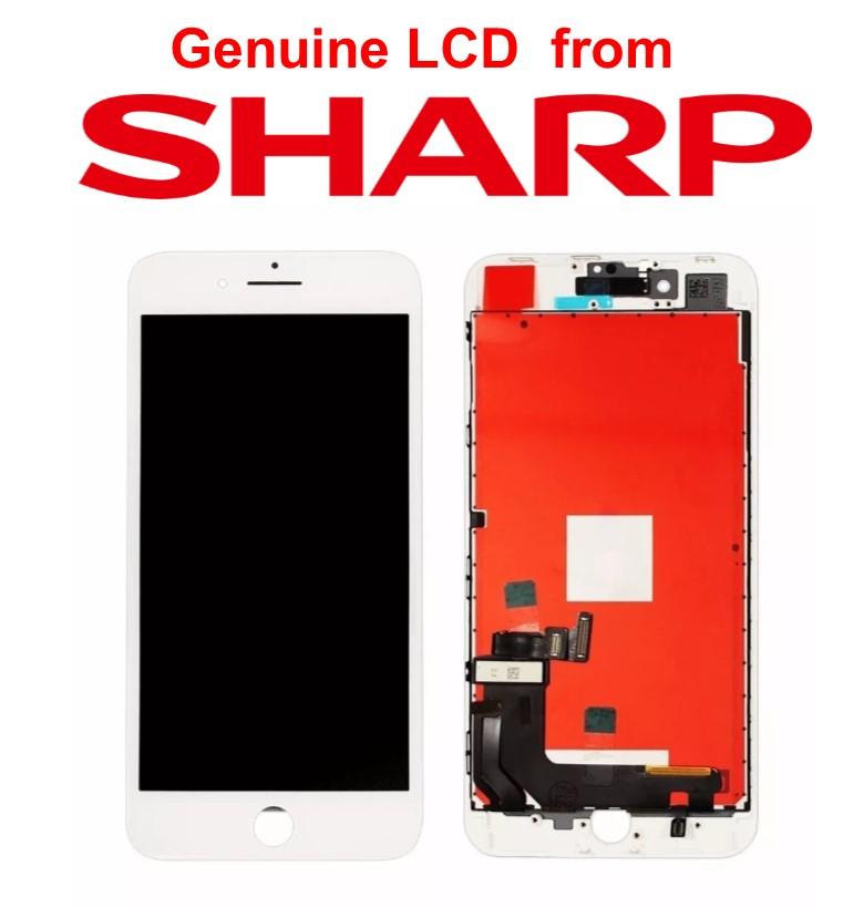 Lcd per iPhone 8 Plus Matrice Sharp alta qualità Bianco