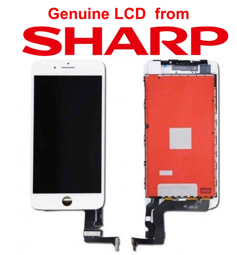 Lcd per iPhone 8 Matrice Sharp alta qualità Bianco
