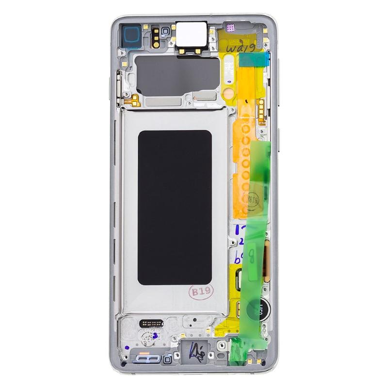 LCD display Touch Samsung G973 Galaxy S10 GH82-18850B Bianco