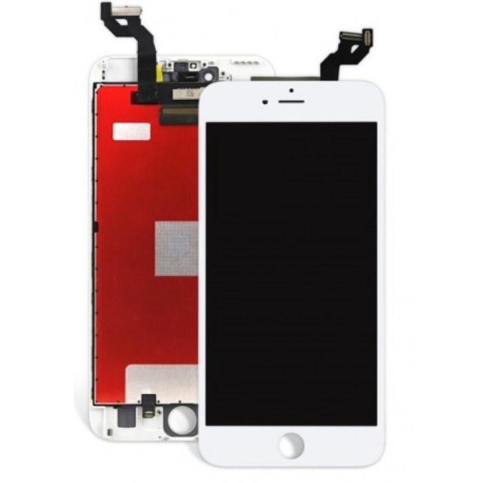 Lcd AA+ OEM Assemblato Alta Luminosita IPhone 6S Bianco