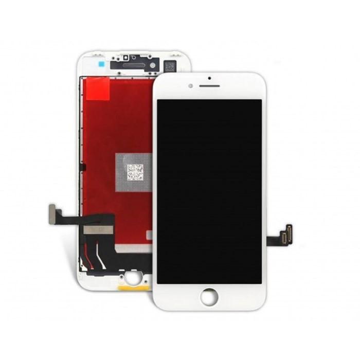 Lcd AAA+ OEM Assemblato Alta Luminosita IPhone 7 Bianco