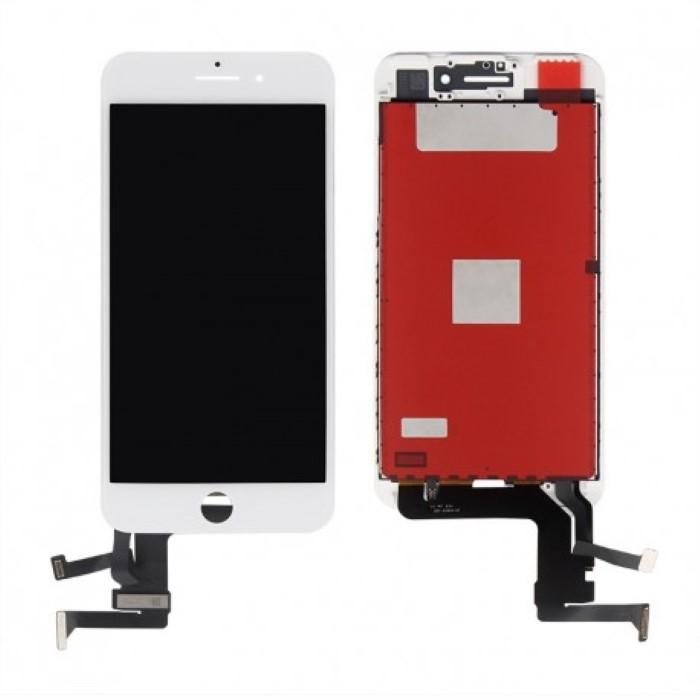 Lcd AA+ OEM Assemblato Alta Luminosita IPhone 7 Plus Bianco
