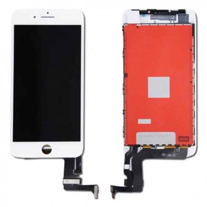 Lcd AA+ OEM Assemblato Alta Luminosita IPhone 8 Plus Bianco