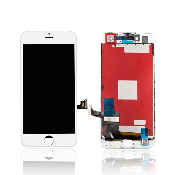 Lcd AA+ OEM Assemblato Alta Luminosita IPhone 8 Bianco