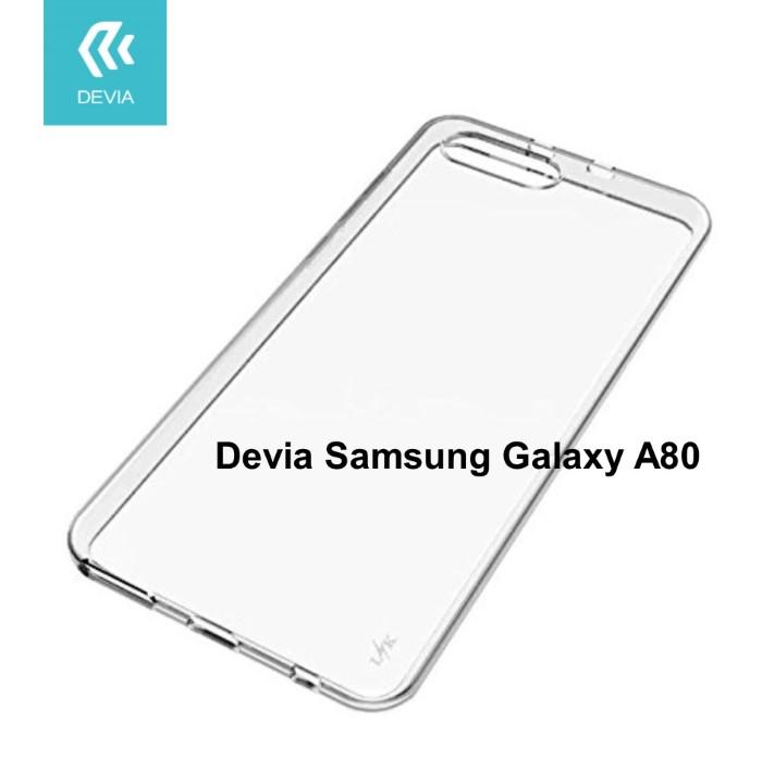 Cover protezione in TPU Trasparente per Samsung A80