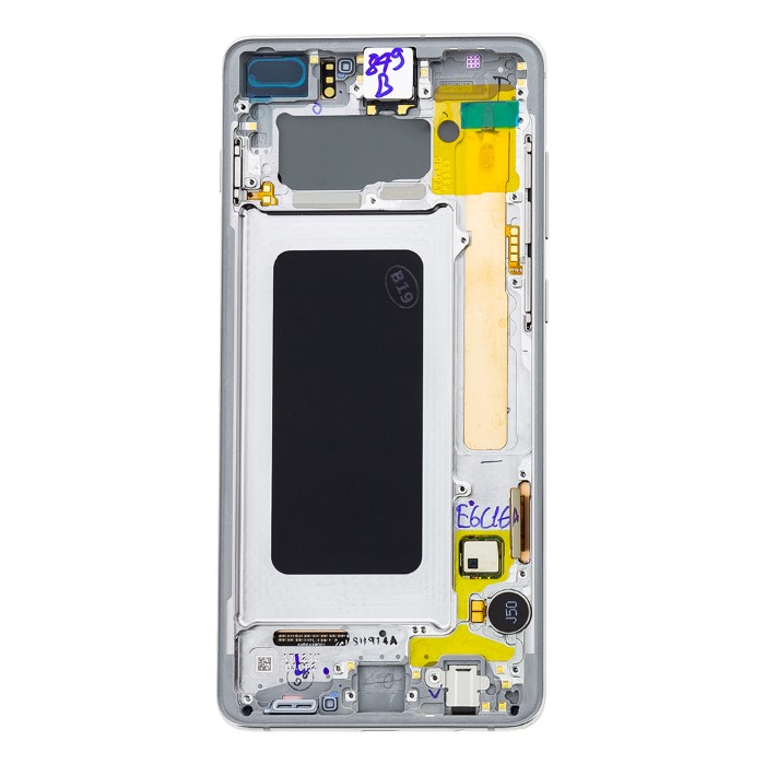 LCD Samsung G975 Galaxy S10 Plus Bianco S. Pack GH82-18849B