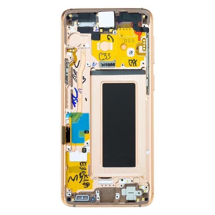Lcd Samsung S9 Originale Service Pack GH97-21696E Gold