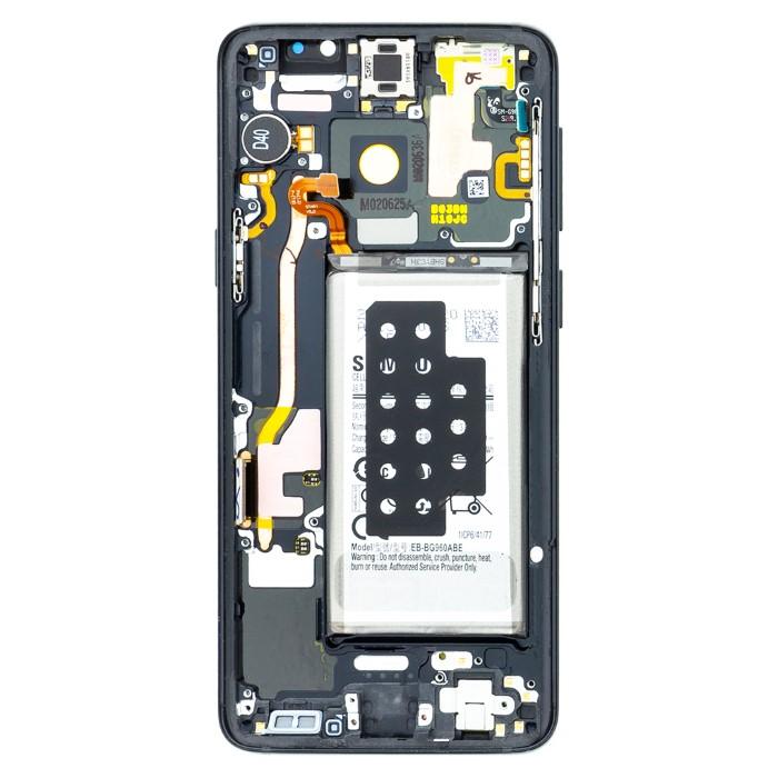 Lcd Samsung S9 Versione con Batteria sensori e acc Nero