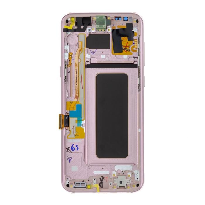 LCD Originale Samsung SM-G955 S8 PLUS Pink GH97-20470E