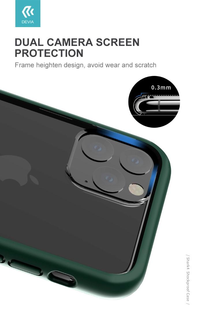 Cover Shark 4 Protezione TPU Trasparente per iPhone 11