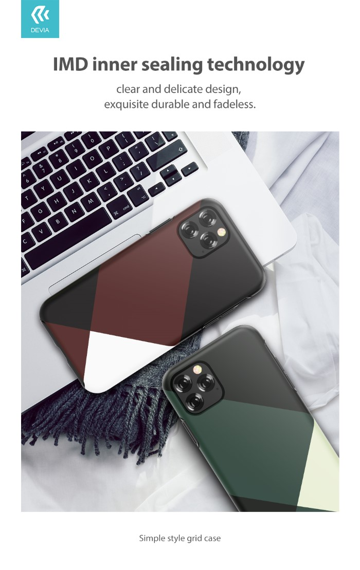 Cover Simple Style per iPhone 11 Grigia