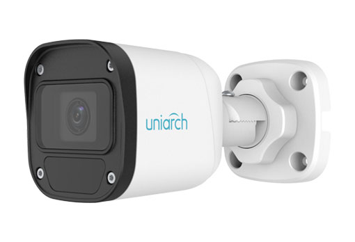 3MP Uniarch Bullet IPCamera, Ottica Fissa, 2.8mm Ultra265