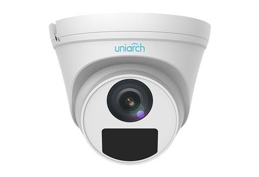 3MP Uniarch Turret IPCamera, Ottica 2.8mm Ultra265, 3-Axis