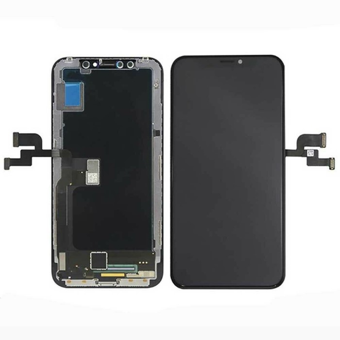 LCD + Touch + Vetro Oled Soft AAA+ Per iPhone Xs Max