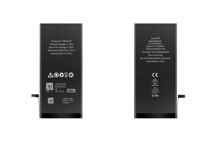 Batteria ricambio per iPhone 7 High Capacity 2160mah